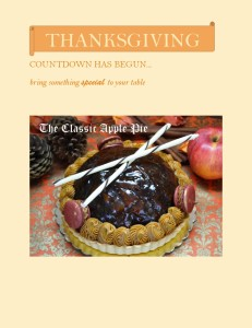 THANKSGIVING NEWSLETTER